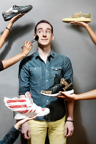 Daniel Davis, Owner of For Rent Shoes, featured on StrangersWithStyle.com