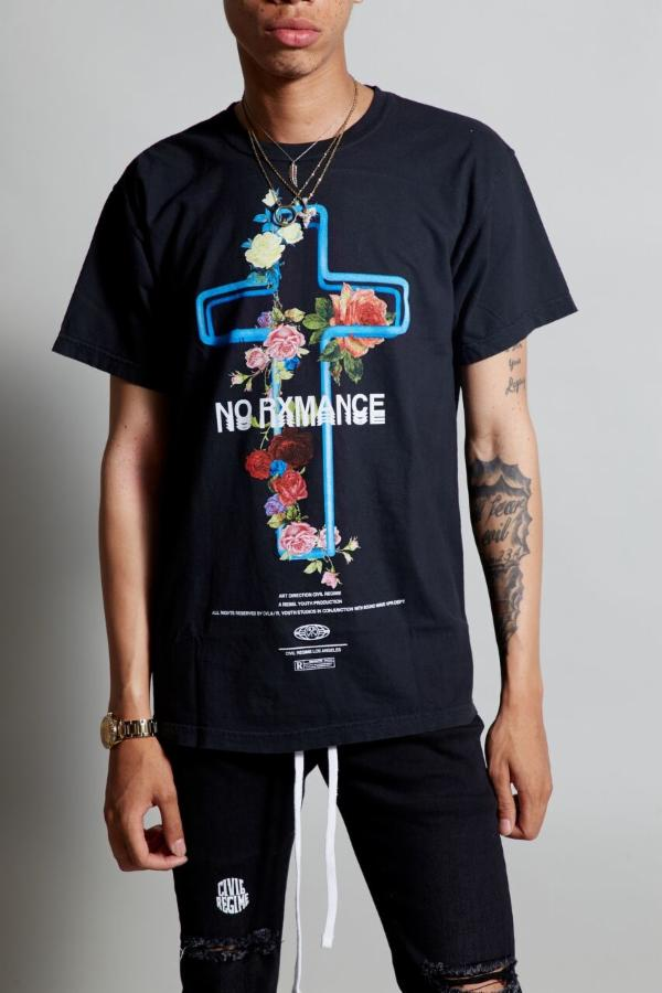 Civil - No Rxmance Tee - Black - FRS