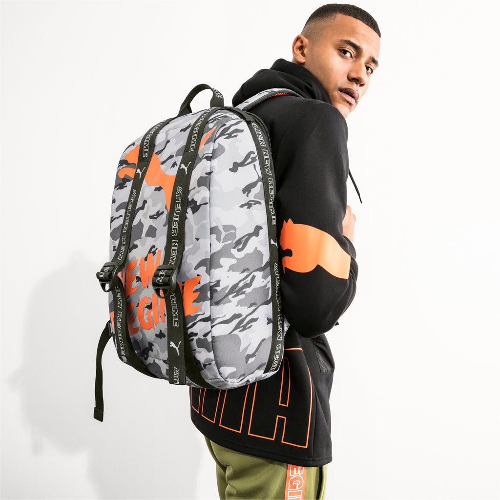 Puma x Atelier New Regime - Backpack - Gray Violet / Forest Night - FRS