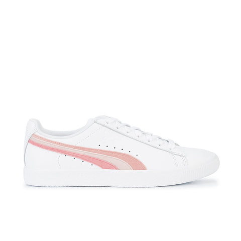 Puma - Clyde L VelFS Wn's - Puma White / Bridal Rose