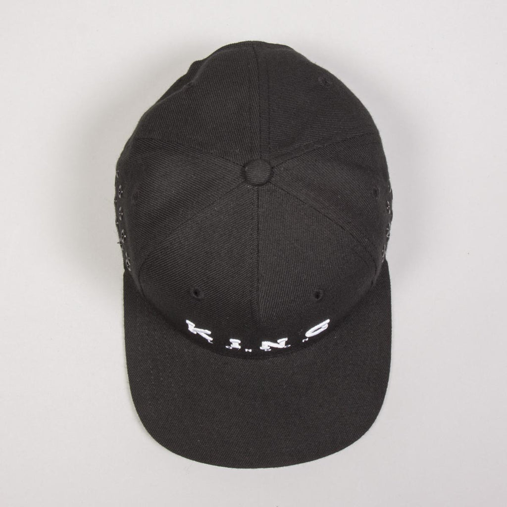King Apparel - Stepney Snapback - Black - FRS