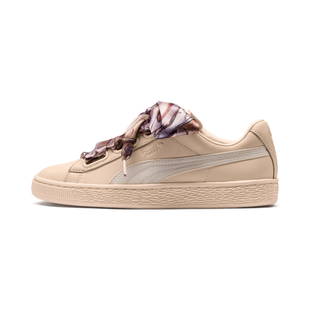 Puma Women's Basket Heart MIMICRY - Vanilla Cream - FRS