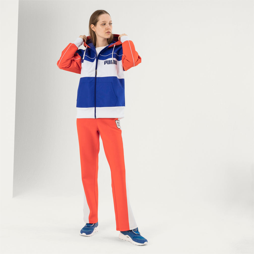 PUMA X ADER - Zip-Up Hooded Unisex Windbreaker ADER ERROR - Surf The Web - FRS