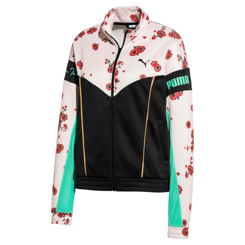 Puma x Sue Tsai - XTG TRACKTOP - Black - Cherry Blossoms