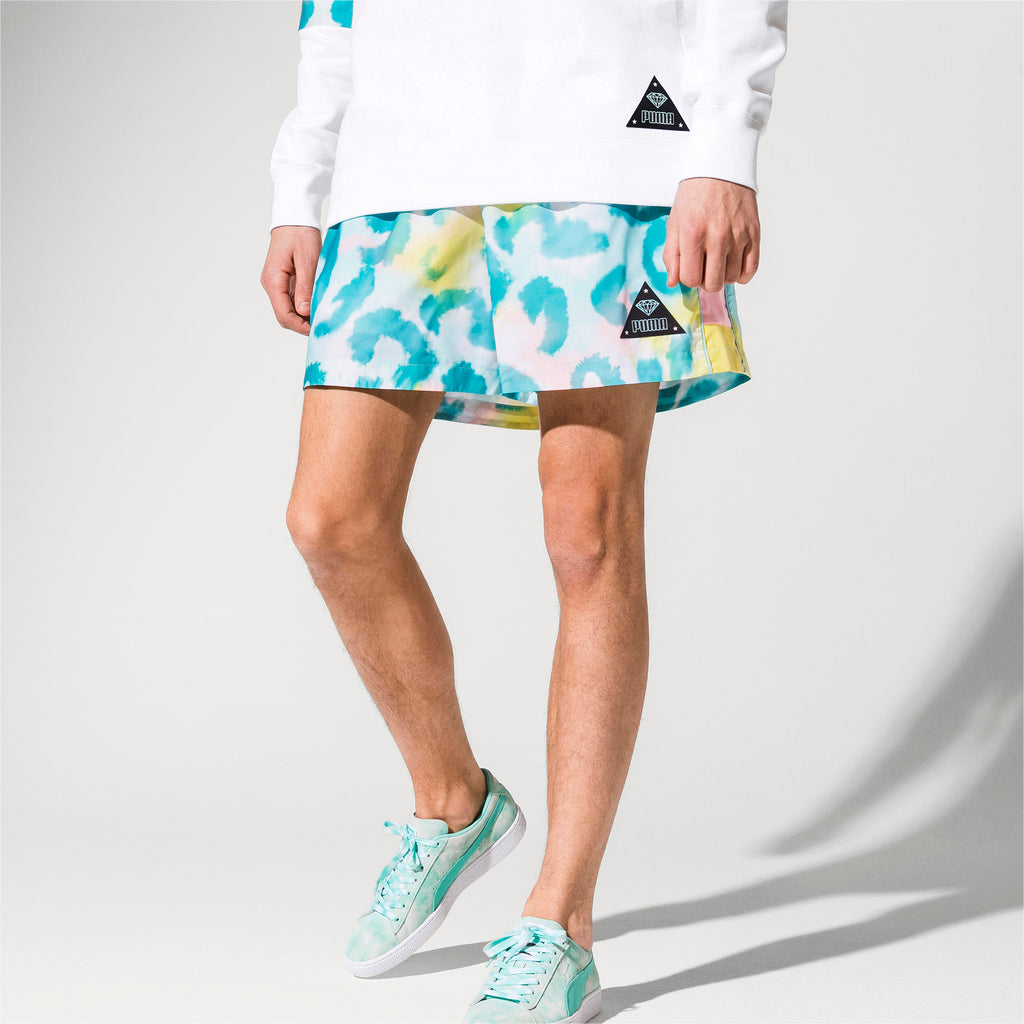 Puma x Diamond Supply - Shorts - White - FRS