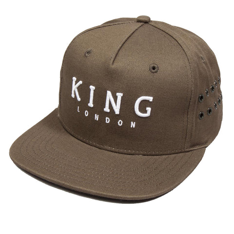 King Apparel - Stepney Snapback - Fern