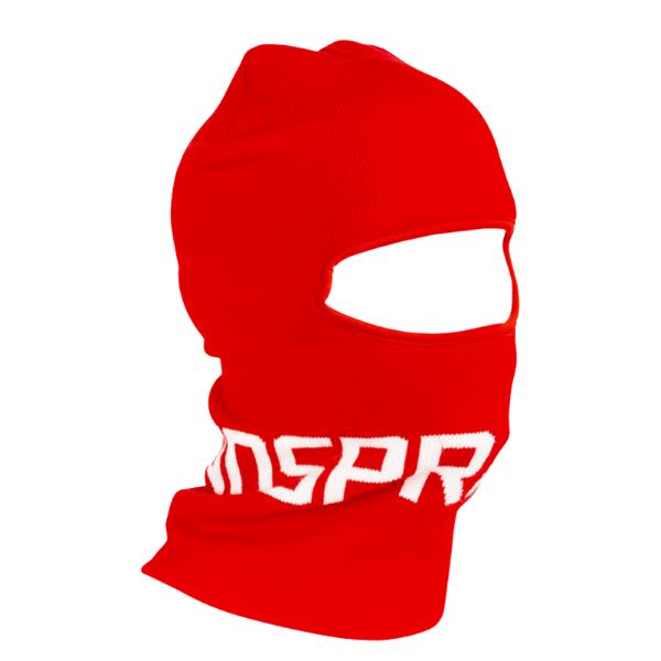Sprayground - Red Sprayground Logo Ski Mask - Red - FRS