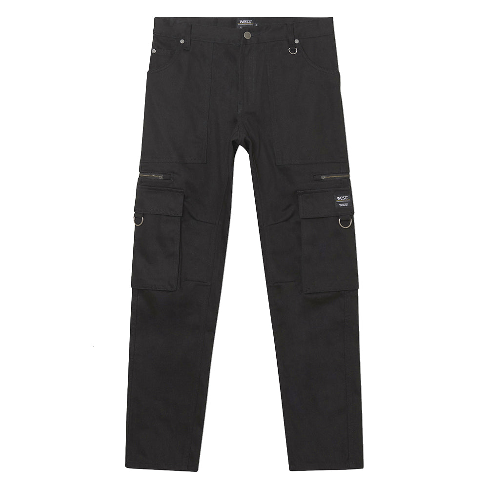 WeSC - Tapered Utility Pant - Black