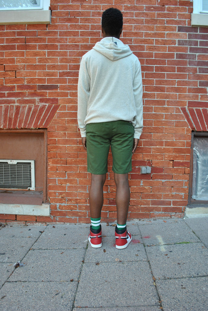 Diamond Supply Co. - Classic Chino Short - Green - FRS