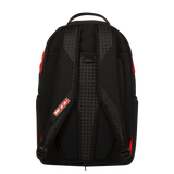 Sprayground - Red Leopard Rubber Shark Backpack - Red - FRS