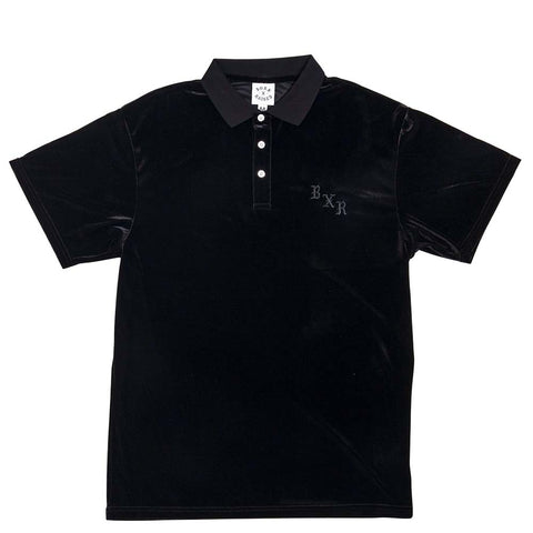 BornxRaised - Velour Short Sleeve - Black