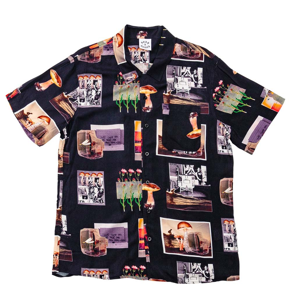BornxRaised - After School Special Button Up Shirt - Black - FRS