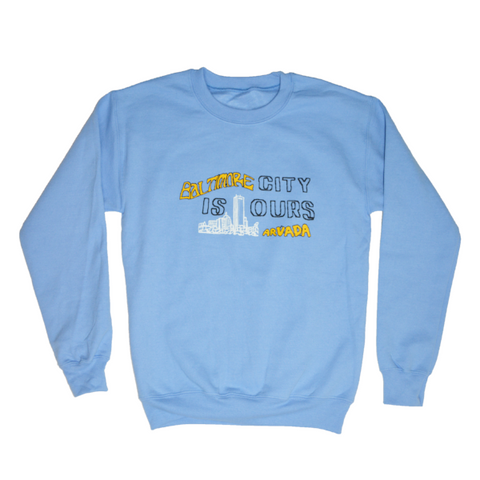 Arvada - City is Ours Crewneck - Blue