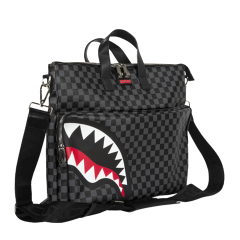 Sprayground - Sharks in Paris Travel Case - Black Checker