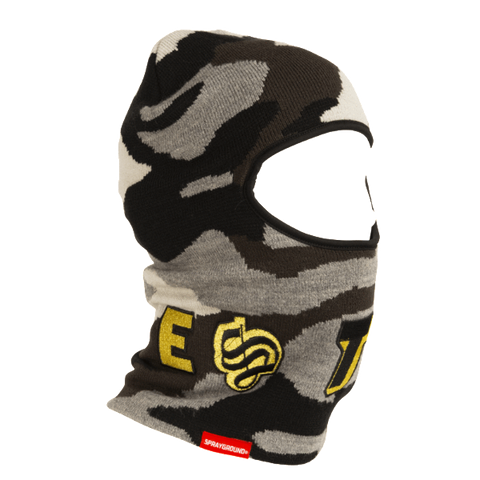 Sprayground - Destroy Ski Mask - Gold Camo