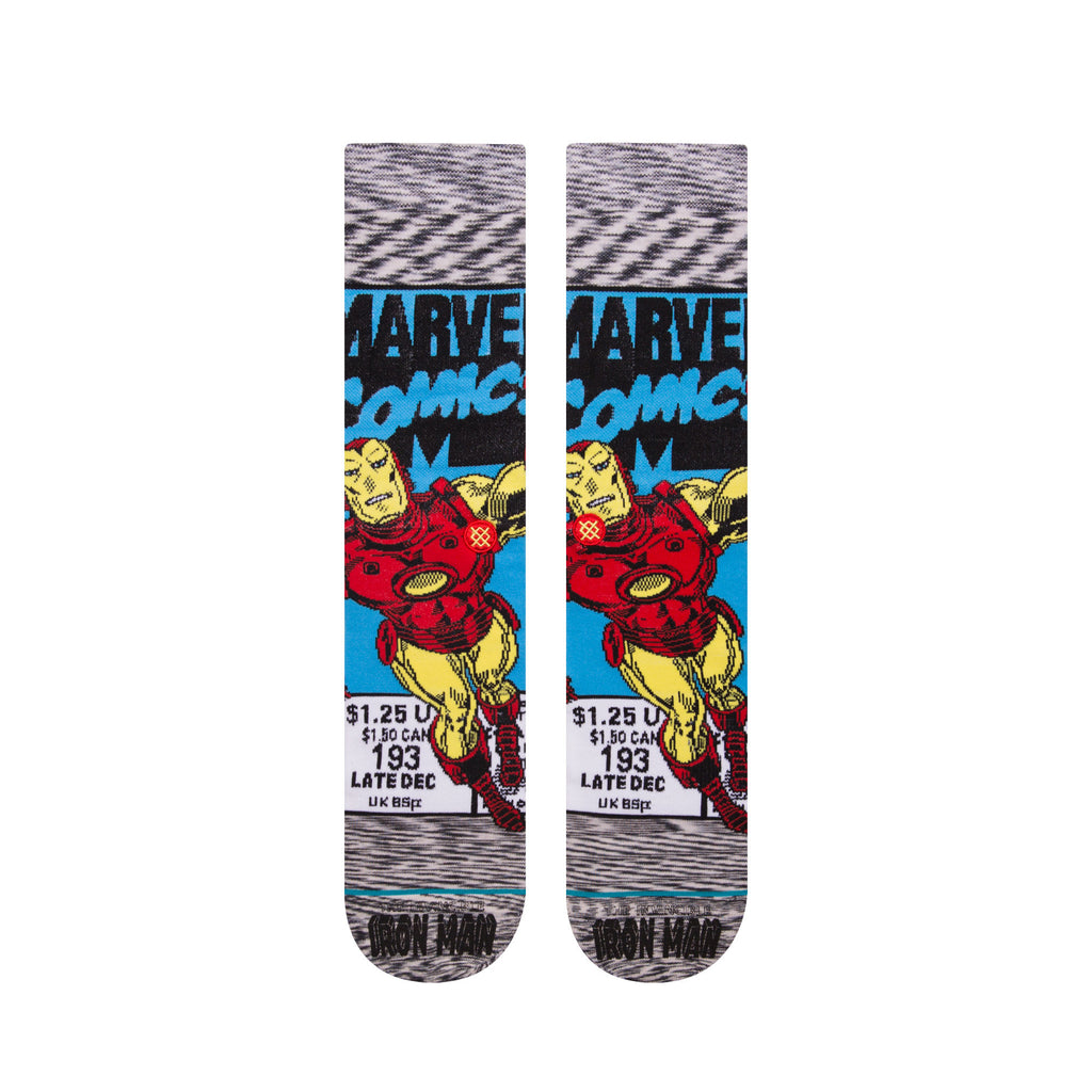 Stance x Marvel - Iron Man Comic - Grey - FRS