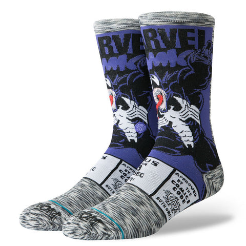 Stance x Marvel - Venom Comic - Grey