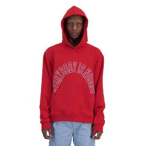 Control Sector - Thought Hoodie - Red / Blue Print