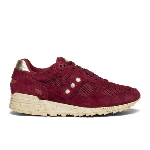 Saucony - Gold Rush Shadow 5000 - Maroon / Gold