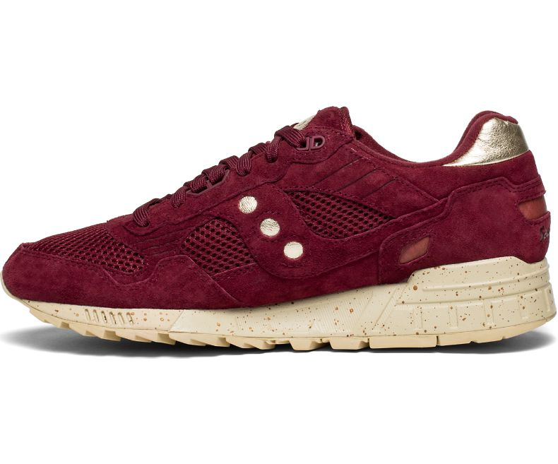 Saucony - Gold Rush Shadow 5000 - Maroon / Gold - FRS