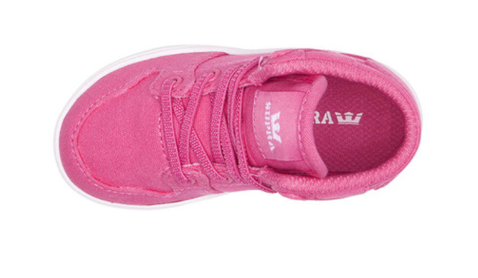 Supra - Toddler Vaider - Pink / White