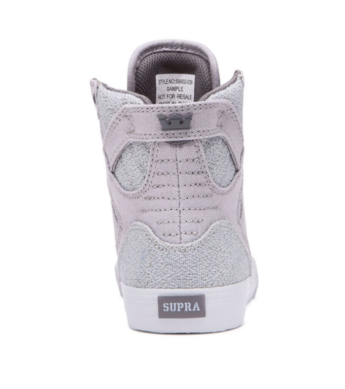 Supra - Kid's Skytop - LT Grey