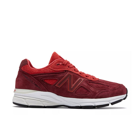 New Balance - Women's Made in USA 990v4 (W990VT4) - Vortex w/ Mercury Red