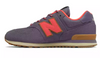 New Balance - Girl's 574 Classic (PC574TK) - Deep Cosmic Sky with Dragonfly - FRS