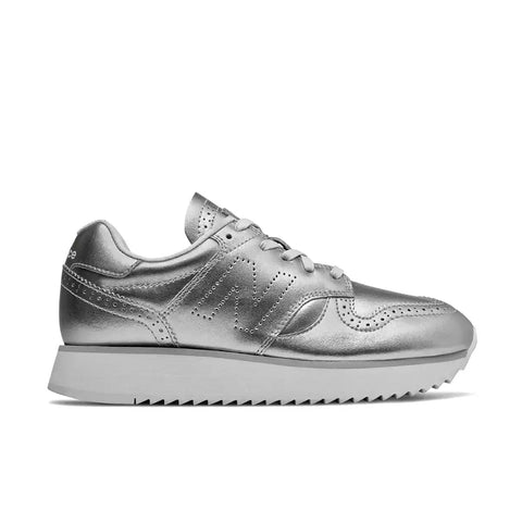 New Balance - Women's 520 Platform (WL520ME) - Metallic Silver with Arctic Fox