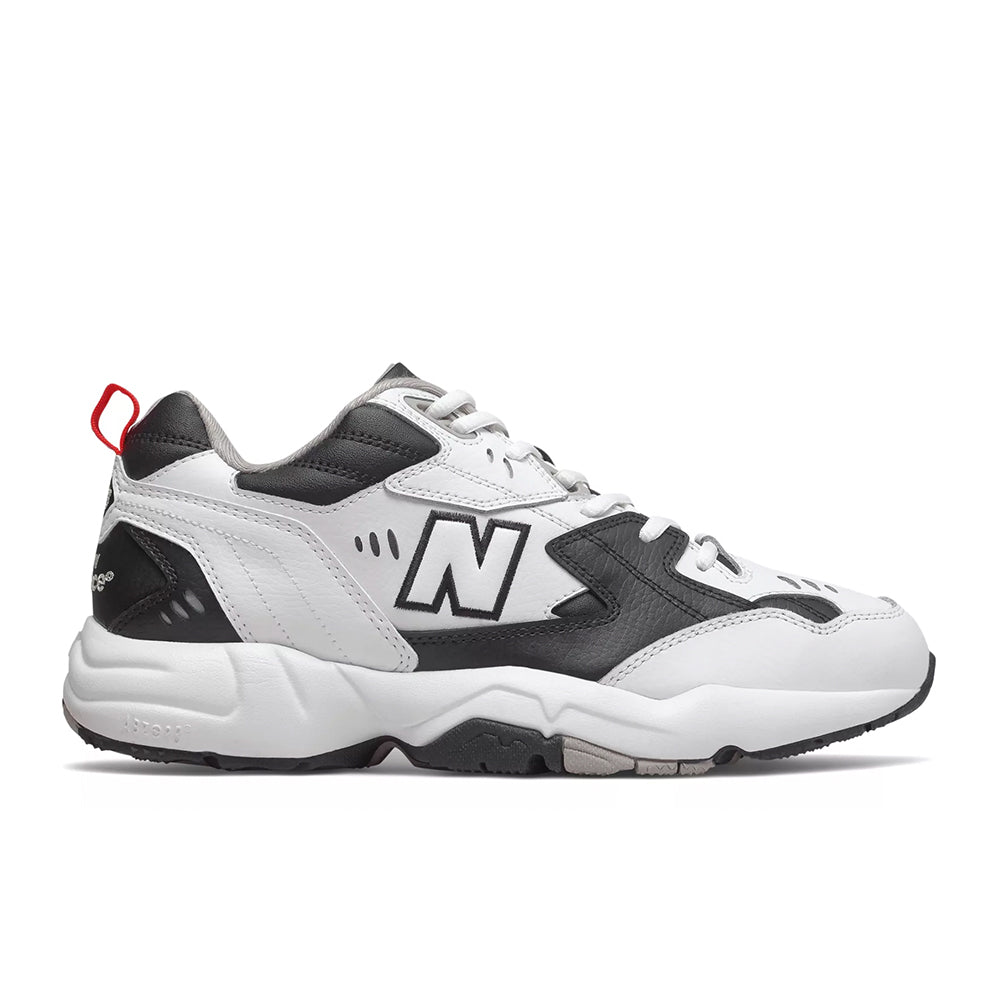 New Balance - 608 (MX608RB1) - White with Black - FRS