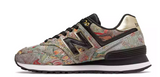 New Balance - Women's 574 Sweet Nectar (WL574SNA) - Black w/ Classic Gold - FRS
