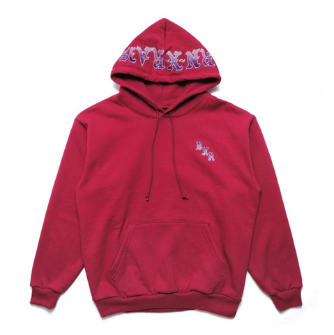 BornxRaised - BXR Gradient Hoodie - Burgundy / Purple
