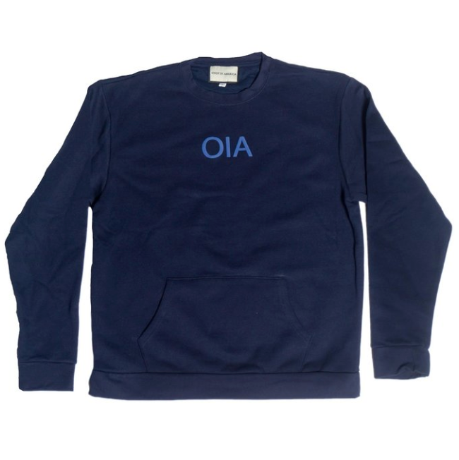 Only in America - OIA Logo Crewneck - Blue - FRS