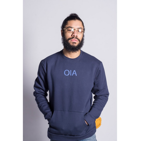 Only in America - OIA Logo Crewneck - Blue