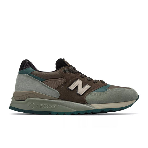 New Balance - 998 Made in the USA (m998awa) - Brown with Grey