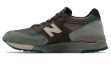 New Balance - 998 Made in the USA (m998awa) - Brown with Grey - FRS