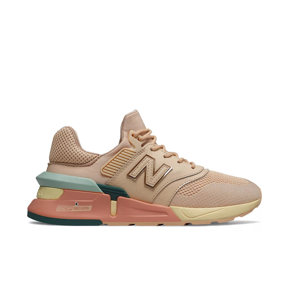 differently 8acd0 78b3f New Balance - Women's 997 Sport (WS997HD) - Sandstone w/ White Agave