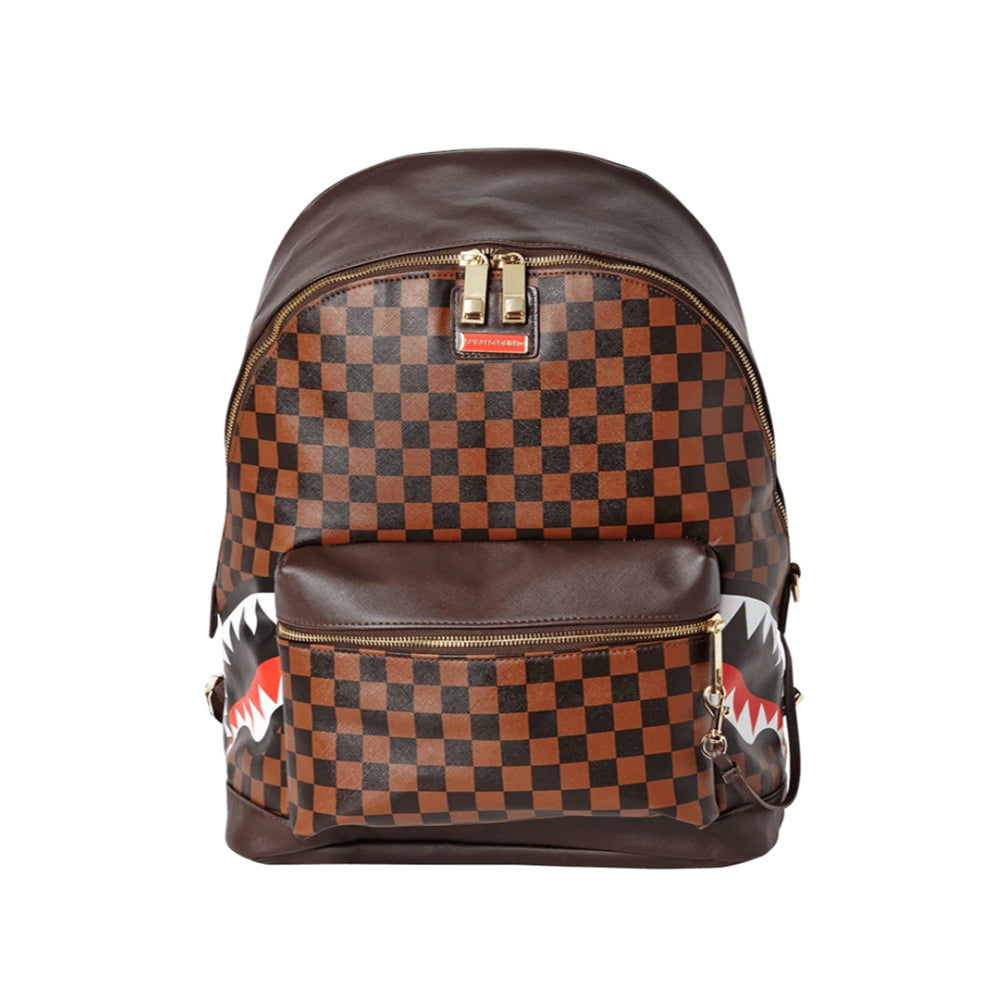 Sprayground - Side Sharks in Paris Backpack - Brown