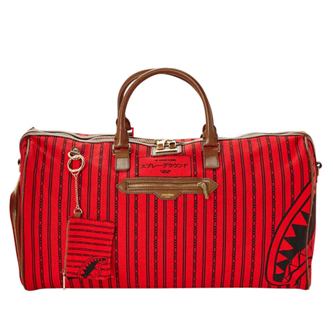 Sprayground - Reverse Sharks in Paris Duffle - Red