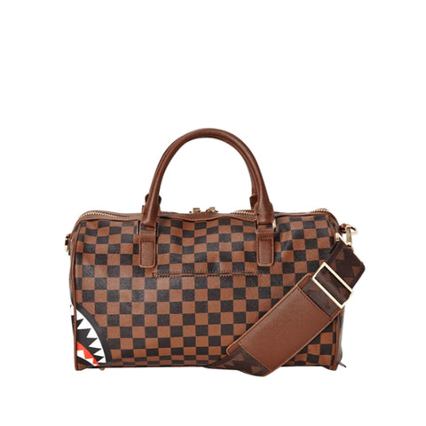 Sprayground - Sharks in Paris Mini Duffle - Brown