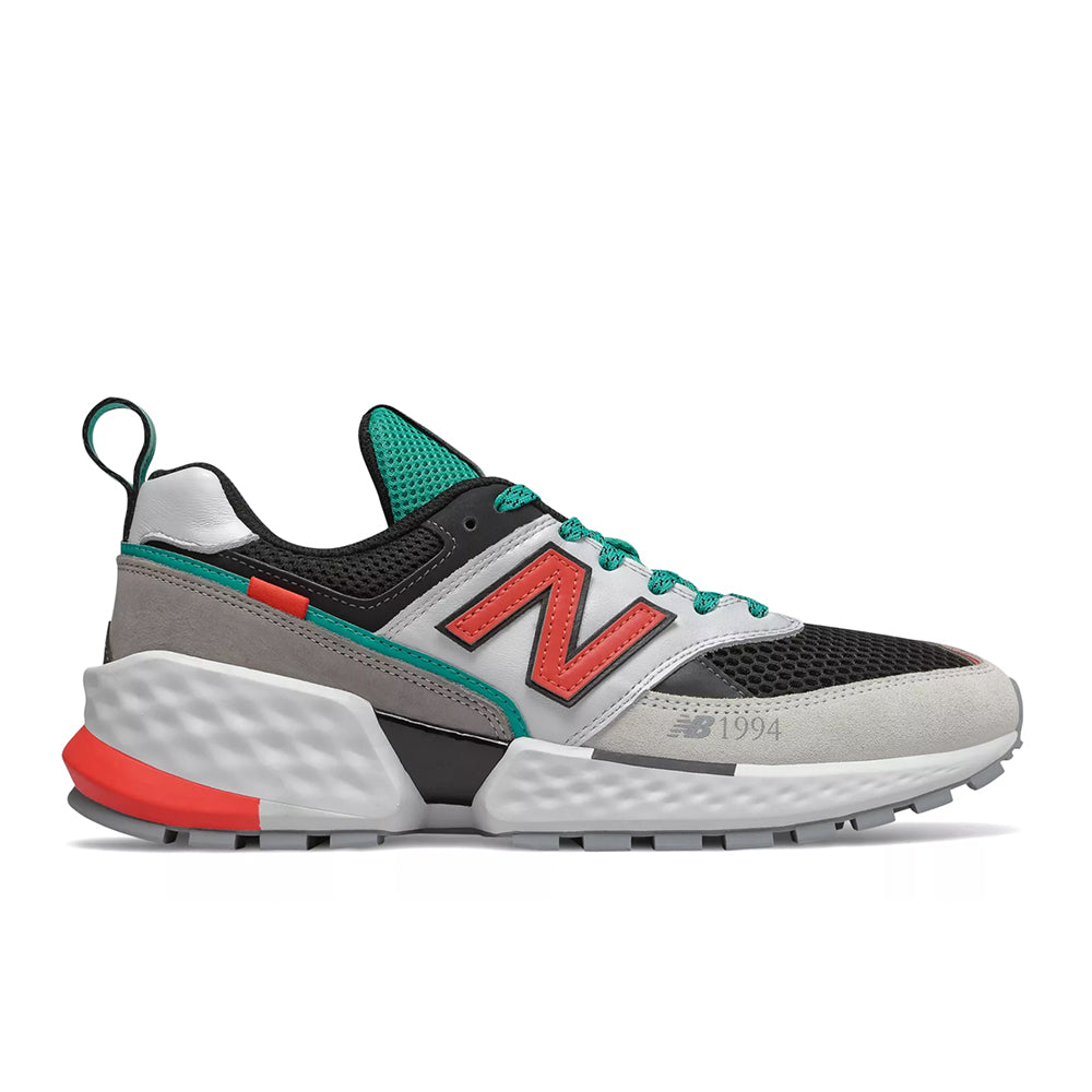 separation shoes 1fca4 4e801 New Balance - 574 Sport (MS574AAC) - Munsell White w/ Coral Glow