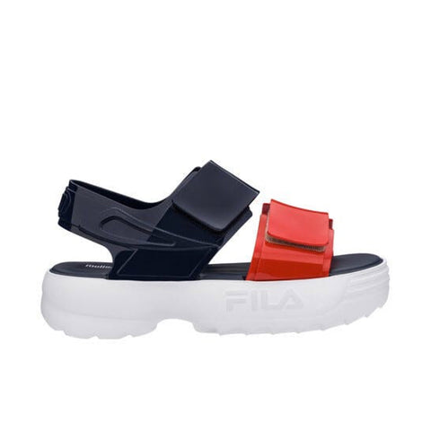 FILA x Melissa Collaboration Sandal - White / Blue / Red