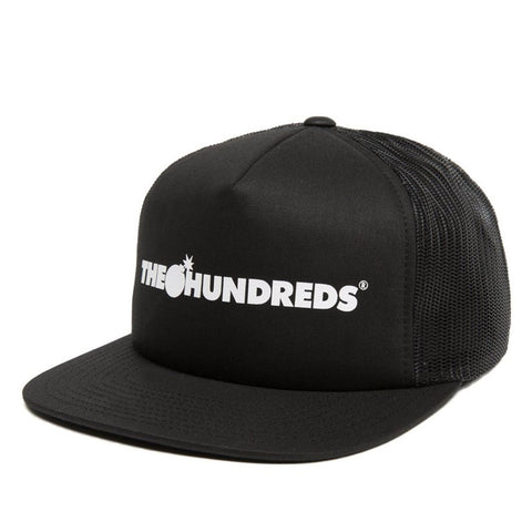 The Hundreds - Bar Logo Snapback - Black