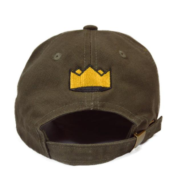 Heir to the Throne - Company Dad Hat - Olive Green x Gold - FRS
