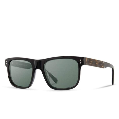 Shwood - Monroe: Black // Pinecone - G15 Polarized