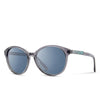 Shwood - Bailey - Smoke Abalone Shell - Blue Flash Polarized - FRS