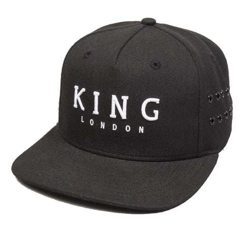 King Apparel - Stepney Snapback - Black