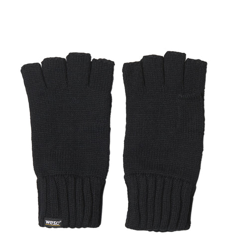 WeSC - Kiril Cut-Off Gloves - Black