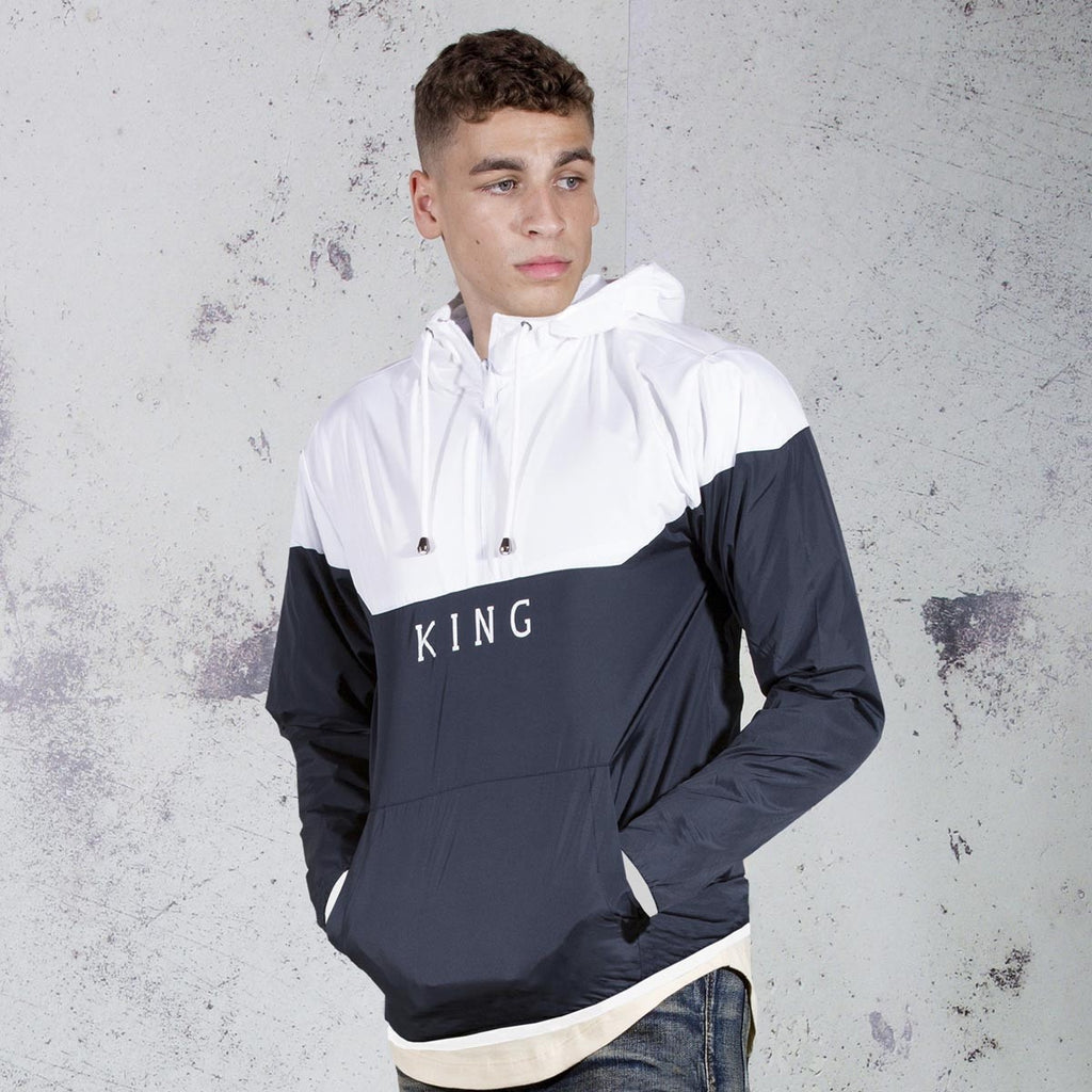 King Apparel - Aldgate Windrunner - Ink - FRS