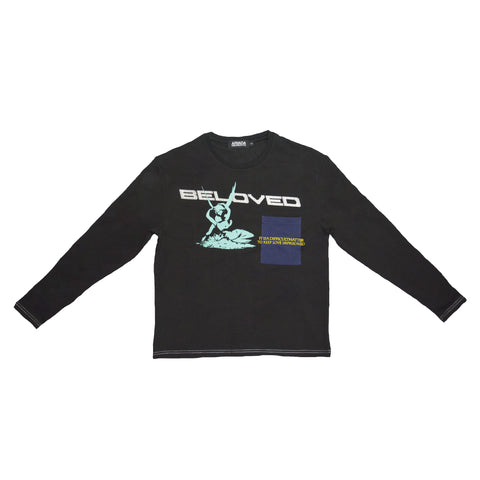 Arvada - My Beloved Long Sleeve Shirt - Black